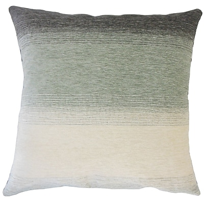 Brayden Studio Wigington Ombre Down Filled Lumbar Pillow; Rain