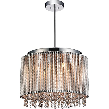 CrystalWorld Claire 6-Light Crystal Pendant