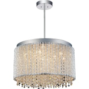 CrystalWorld Claire 10-Light Crystal Pendant