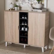 Corrigan Studio Wood Shoe Storage Cabinet