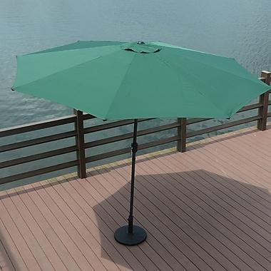 Darby Home Co 10' Mickinley Market Umbrella; Green