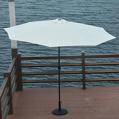 Darby Home Co 10' Mickinley Market Umbrella; White