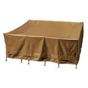 Freeport Park Weather Resistant Table Cover; 30''H x 84''W x 84''D