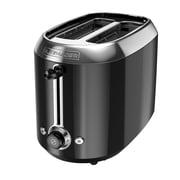 Black & Decker 2-Slice Extra-Wide Slots Stainless Steel Toaster