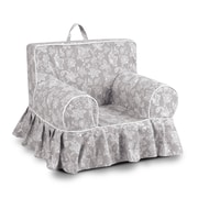 Harriet Bee Fredrick Floral Skirted Kids Cotton Chair