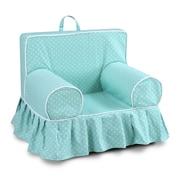 Harriet Bee Fredrick Polka dot Skirted Kids Cotton Chair