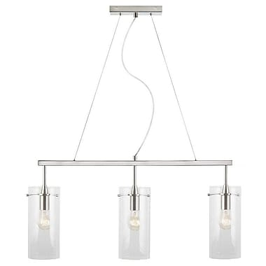 Ivy Bronx Angelina 3-Light Kitchen Island Pendant; Large