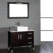 Ivy Bronx Jessa 40'' Single Bathroom Vanity w/ Mirror