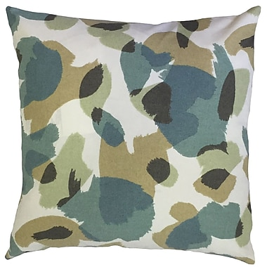 Red Barrel Studio Camelia Geometric Down Filled 100pct Cotton Lumbar Pillow; Citrine