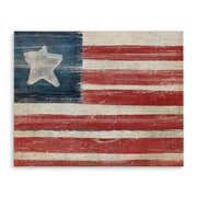 August Grove 'Flag' Horizontal Print on Wrapped Canvas