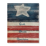 August Grove 'Flag' Rectangle Print on Wrapped Canvas