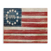 August Grove 'Flag' Rectangle Graphic Art Print on Wrapped Canvas