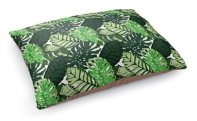Kavka Tropical Leaves Pet Bed Pillow