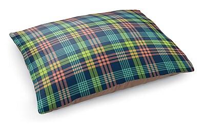 Kavka Book Plaid Pet Bed Pillow