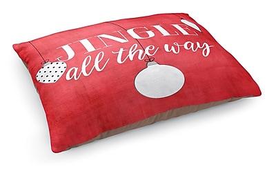 Kavka Jingle All the Way Pet Bed Pillow