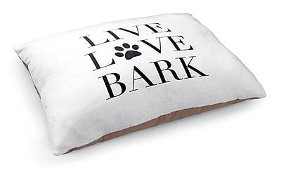 Kavka Live Love Bark Pet Bed Pillow