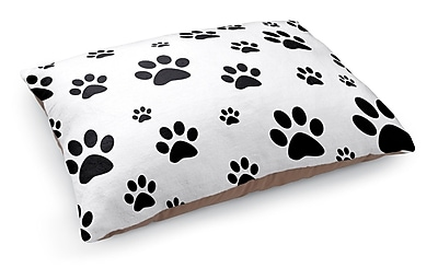 Kavka Paw Prints Pet Bed Pillow