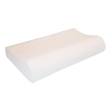 Alwyn Home Contour Wave Botanic Origin Memory Foam Queen Pillow