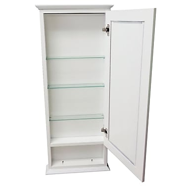 WG Wood Products Drexel Series 15.25'' x 31.5'' Surface Mount Medicine Cabinet
