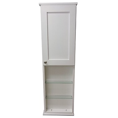 WG Wood Products Lancaster Series 15.25'' x 49.5'' Surface Mount Medicine Cabinet