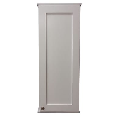 WG Wood Products Lancaster Series 15.25'' x 31.5'' Surface Mount Medicine Cabinet