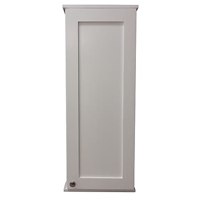 WG Wood Products Lancaster Series 15.25'' x 37.5'' Surface Mount Medicine Cabinet
