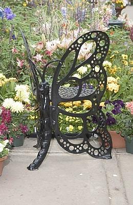 Flowerhouse Butterfly Chair; Black