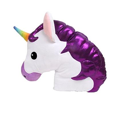 Zoomie Kids Kalia Unicorn Throw Pillow
