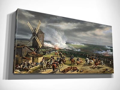 Alcott Hill 'Battle of Valmy' Oil Painting Print on Wrapped Canvas; 24'' H x 40'' W