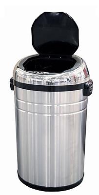 Rebrilliant Stainless Steel 23 Gallon Motion Sensor Trash Can