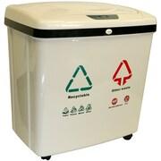 Rebrilliant Automatic 16 Gallon Multi Compartment Recycling Bin