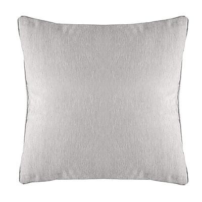 Alcott Hill Brownsburg Modern Chenille Euro Pillow; White