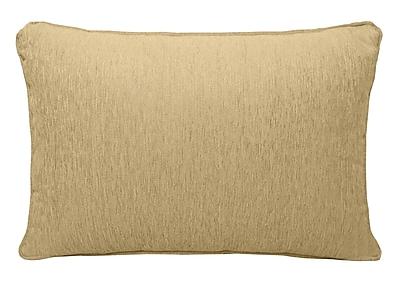 Alcott Hill Brownsburg Chenille Lumbar Pillow; Gold