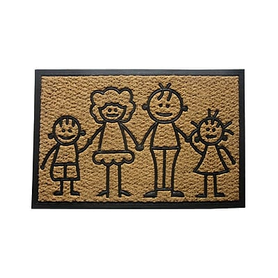 August Grove Sandy Family First Doormat