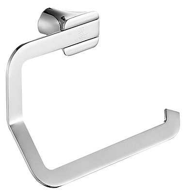 ANZZI Essence Series Wall Mounted Toilet Paper Holder; Polished Chrome