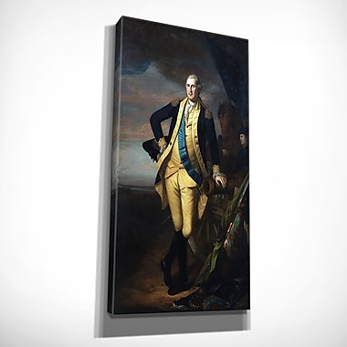 Astoria Grand 'George Washington' Oil Painting Print on Wrapped Canvas; 40'' H x 24'' W