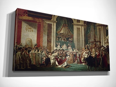 Astoria Grand 'The Consecration of the Emperor Napoleon' Oil Painting Print on Wrapped Canvas