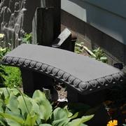 Charlton Home Wachusett Garden Bench; Granite