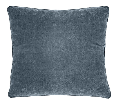 Darby Home Co Ted Soft Velvet Throw Pillow; Viridian
