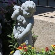 EMSCO Group Cupid Statue; Granite