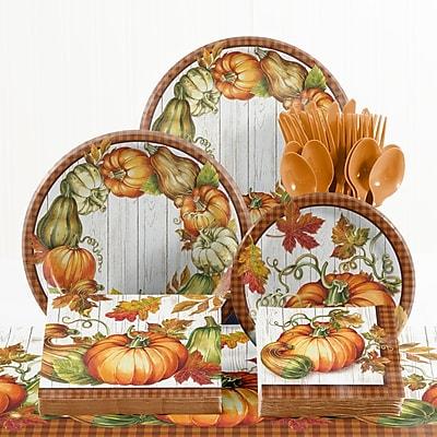 Creative Converting 73 Piece Harvest Plenty Thanksgiving