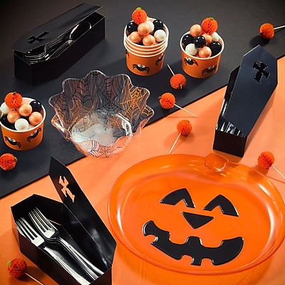 Creative Converting 35 Piece Halloween Tableware Set WYF078281522441