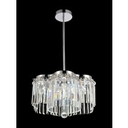 CrystalWorld Celeste 24-Light LED Crystal Pendent; 80'' H x 18'' W x 18'' D
