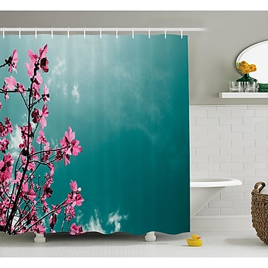 East Urban Home Fig Tree Shower Curtain; 69'' H x 70'' W