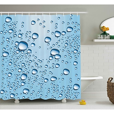 East Urban Home Water Marks Modern Decor Shower Curtain; 69'' H x 75'' W