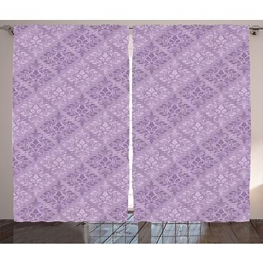 East Urban Home Plaid Room Darkening Rod Pocket Curtain Panels (Set of 2); 54'' x 90''