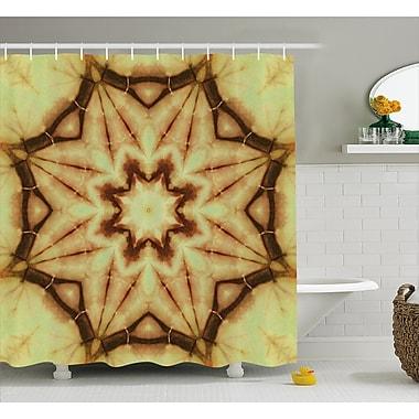 East Urban Home Ethnic Thai Mandala Decor Shower Curtain; 69'' H x 75'' W