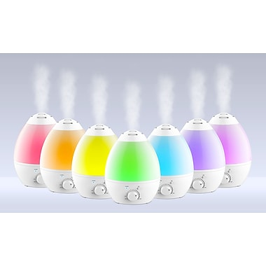 Bell+Howell Ultrasonic Colour Changing Humidifier