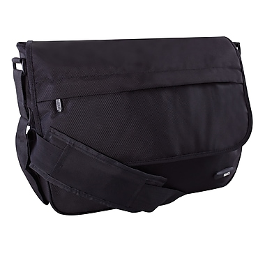 Roots 73 Ballistic Messenger Bag, Black (RTS2046P)