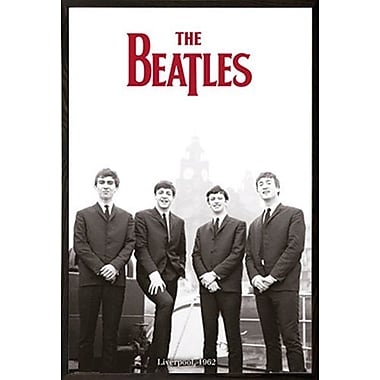 East Urban Home 'The Beatles Liverpool 62' Vertical Framed Graphic Art Print Poster